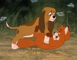 I don't think it's an exaggeration to say we were the fox and the hound...not an exaggeration at all..