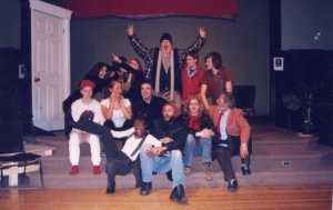 The cast photo of my first show!
