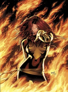 I'm like Jean Grey without the confidence....and the tight outfit.