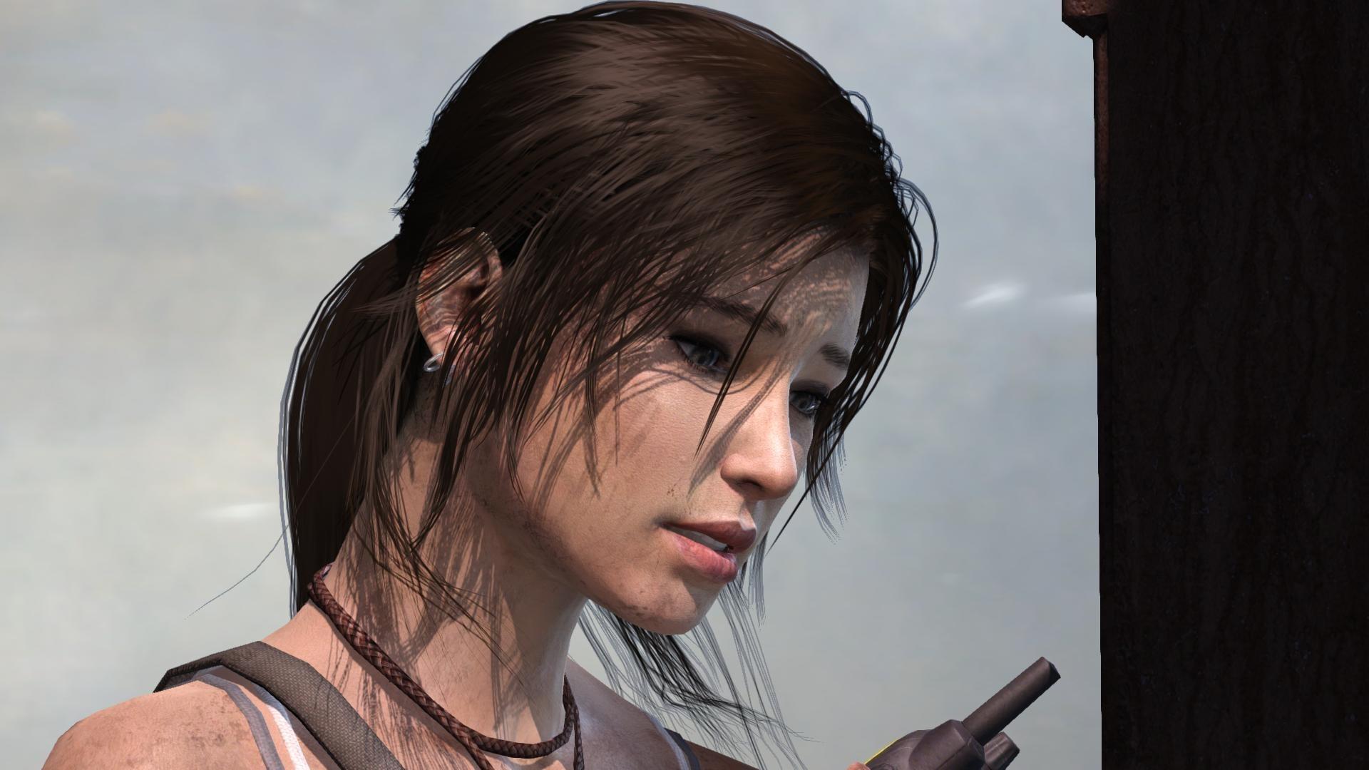 Lara croft hair cartoon movie