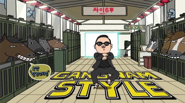 Okay, it was Gangnam Style.