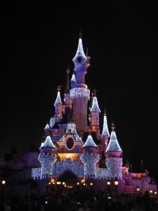 Land of sparkly castles.