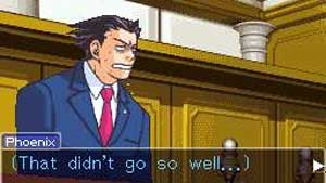 Thankfully it never reached Phoenix Wright levels of stress.