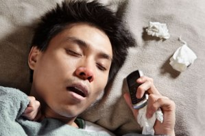 This was the only picture I could find of an Asian sleep texting