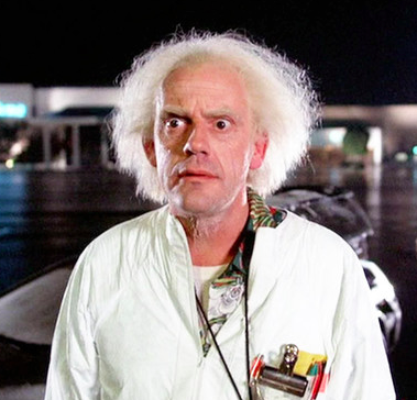And I don't have a doc brown to help me out