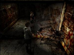 More than this scene in Silent Hill 3...which is saying SOMETHING