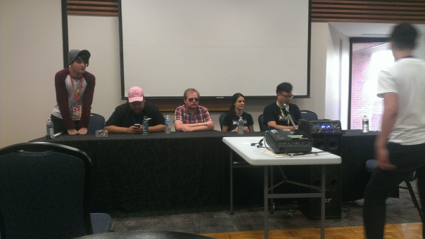 I did manage to get out to the Nerd Music panel though!