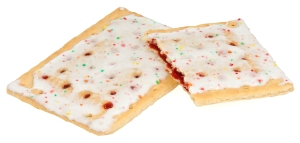 Somebody in my office made Pop Tarts yesterday...POP TARTS...it was torture smelling them...I don't even like pop tarts that much